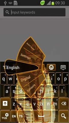 Pharaoh Keyboard