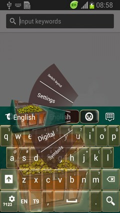 Treasure Keyboard