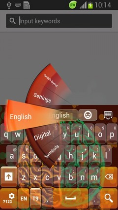 Thinking Brain Keyboard