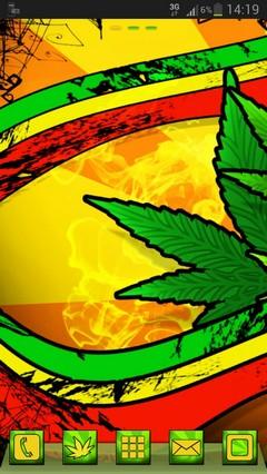GO Launcher EX Theme marijuana-release