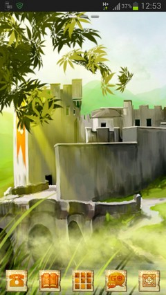 Go Launcher Stronghold Castle-release
