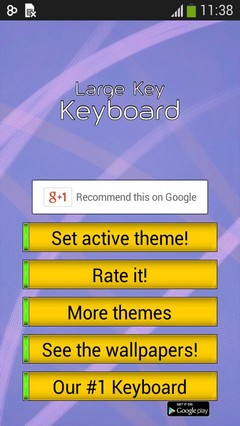Large Keys Keyboard
