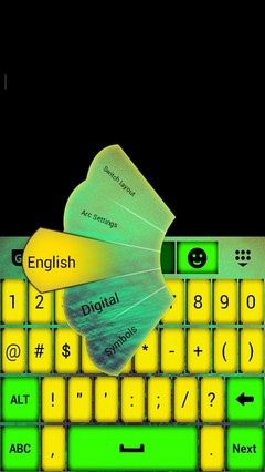 Color Keypad App