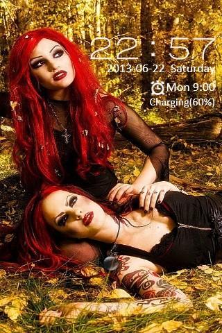 Gothic Girls Locker