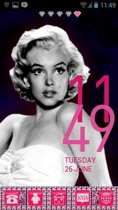 Marilyn Monroe Go Theme