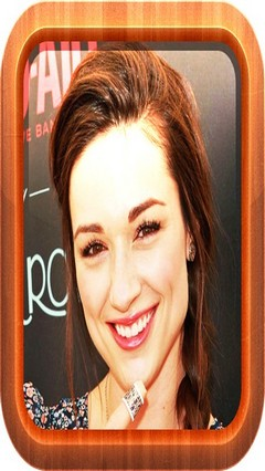 crystal reed Go Locker theme For Android Phone