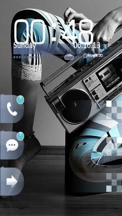 Music Girl Locker