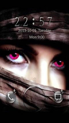 Mystic Eyes Go Locker