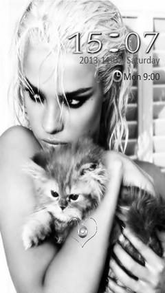 Cat n Girl Locker