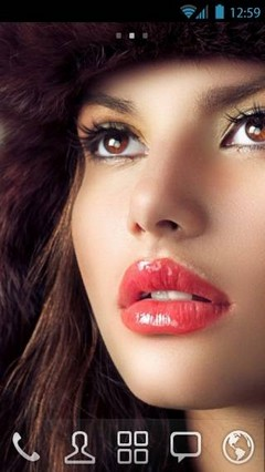 Beauty by vanko Go Launcher