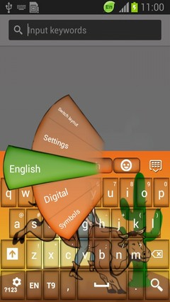 Bull Riders Keyboard