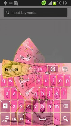 Pink Dreams Keyboard