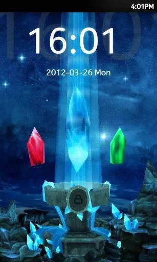 3D Shrine Go locker theme