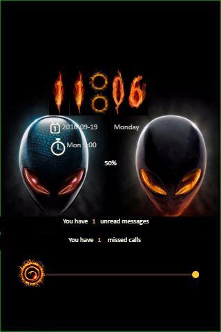 AlienWare Go Locker Theme
