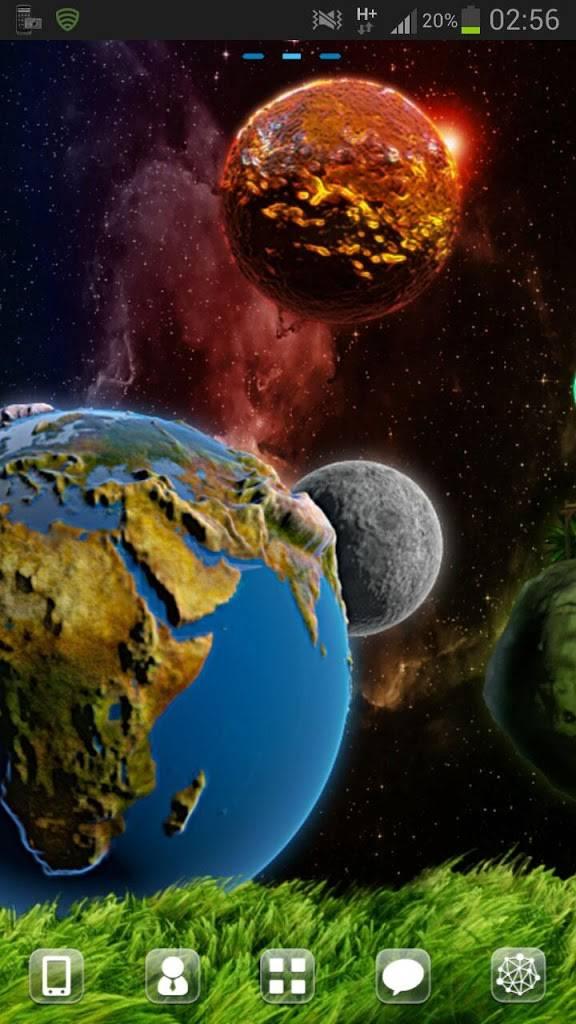 GO Launcher EX Theme Cosmos