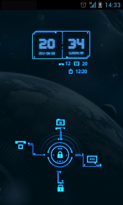GO Locker Future World Theme