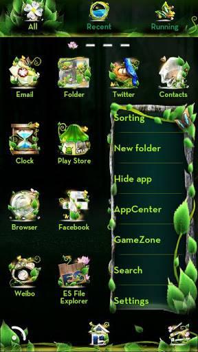 Forest GOLauncher EX Theme v1.6