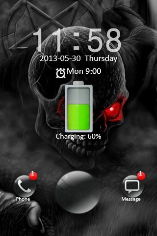 Dark Skull Locker
