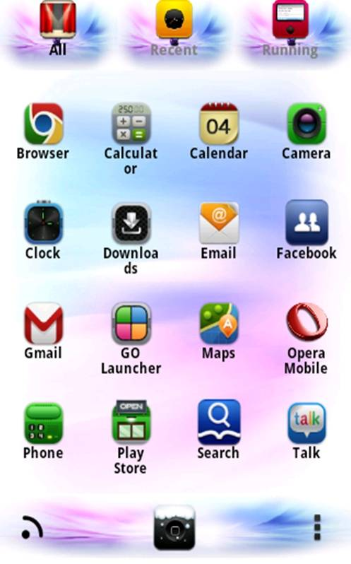 iphOne 6 GO LauncherEX Theme