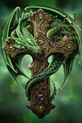 Dragon Cross Go Locker