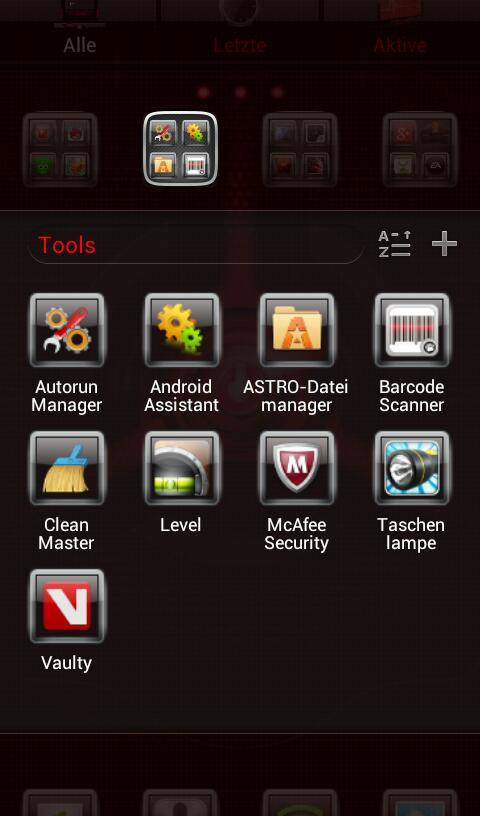 HUD Apocalypse Android Theme