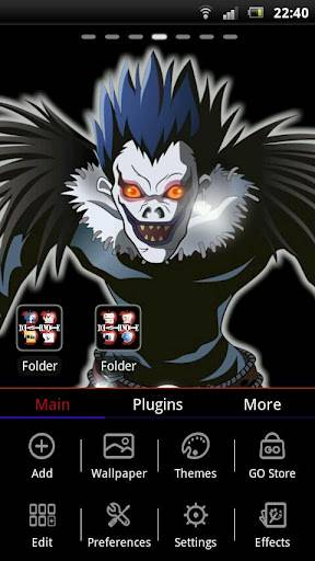 Death Note Theme GO Launcher