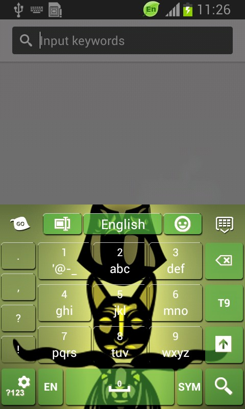 Egyptian Theme Keyboard
