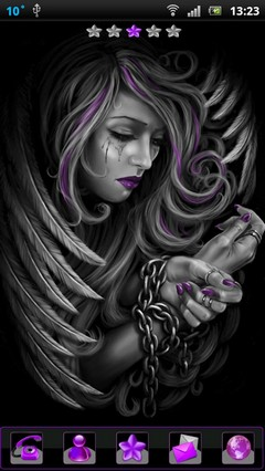 chained girl