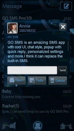 Future World GO SMS Theme 1.0