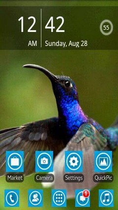 Blue Bird Theme