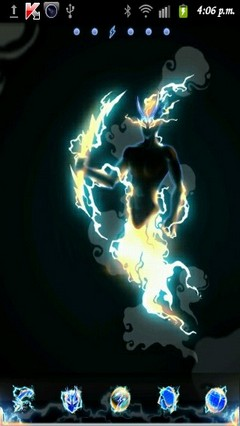 Thunder GO LauncherEX Theme v1.2