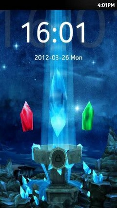 3D Shrine Go locker theme