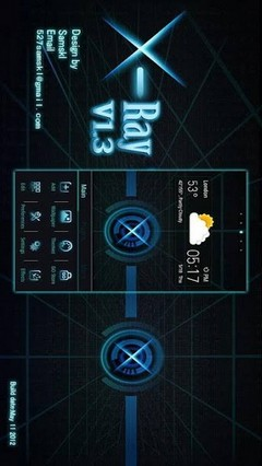 X Ray GO LauncherEX Theme v1.3 new