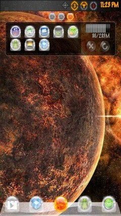 Sun Gods Go Launcher EX Theme