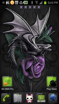 purple dragon rose