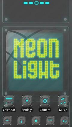 Neonlight Theme GO Launcher EX