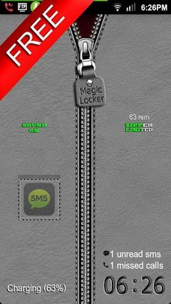 Zipper II Free MagicLocker