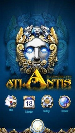 Atlantis GO LauncherEX Theme