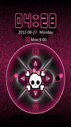 go locker lindas pink theme