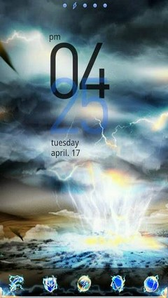 Thunder GO LauncherEX Theme