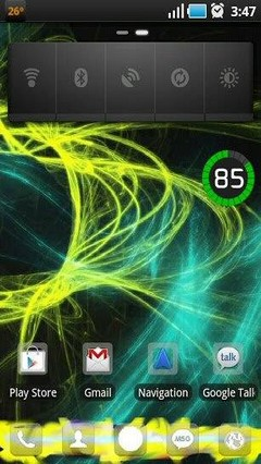 Go Launcher Galaxy x1 Theme