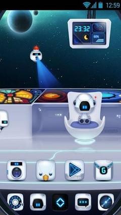 Captain Bot GO Super Theme