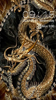 Golden Dragon Locker