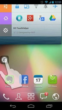 Colorbar Toucher Go Laucher Theme