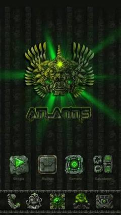 Atlantis ? GO LauncherEX Theme