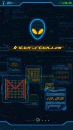 Interstellar GO Launcher Theme