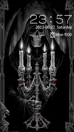 Dark Reaper Go Locker