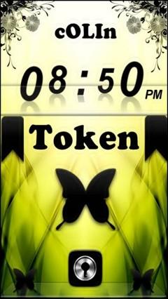 TokEn GO Locker Theme