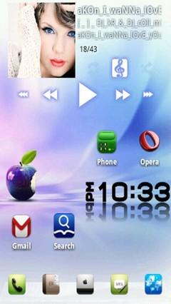 iphOne 6 GO LauncherEX Theme