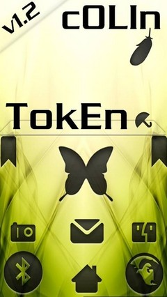 TokEn GO LauncherEX Theme